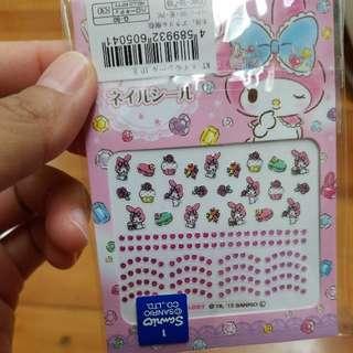 購自日本 melody指甲貼紙