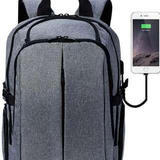 電腦 背囊 背包 可接usb充電寶 順豐店自取加$20 屯門站or屯門市中心 交收地點