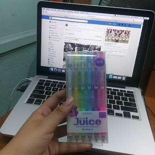 Pilot Juice Pens Six Pack Pastel (0.5)