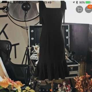 黑色蝴蝶結洋裝
