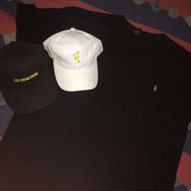 🔥3 for 450🔥 Ralph Lauren x Bart Simpson Dadhat x Penshoppe Cap ... 950ac63216e
