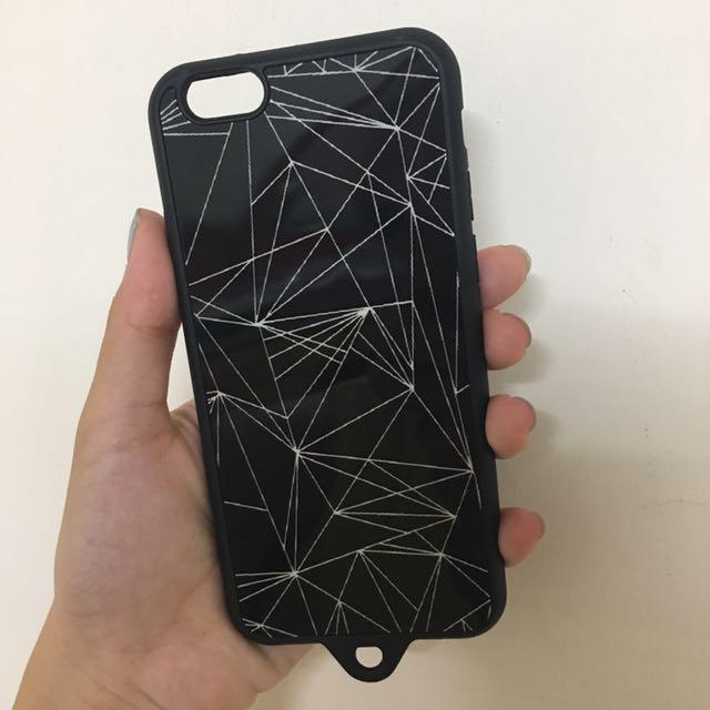 全新鏡面幾何手機殼