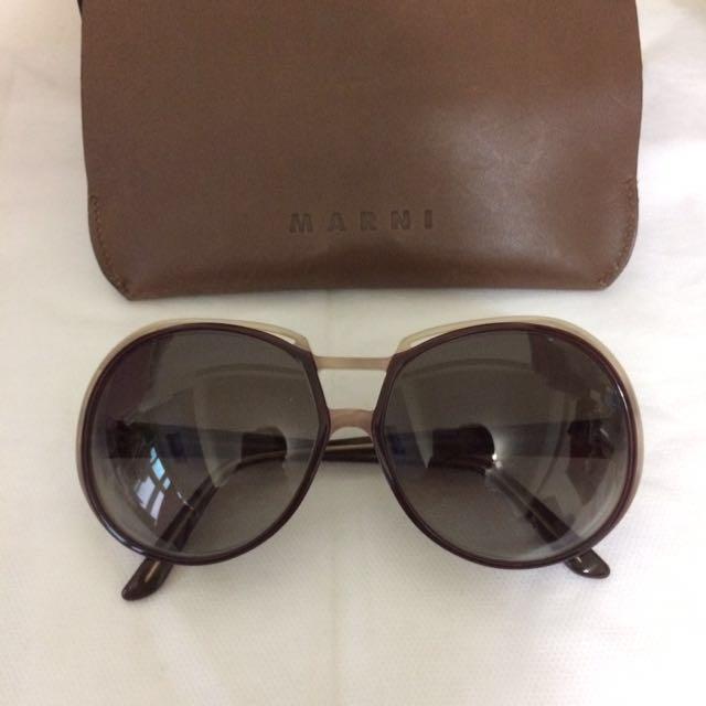 義大利品牌 Marni 太陽眼鏡 墨鏡