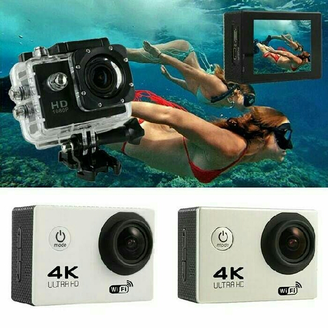 action camera + wifi