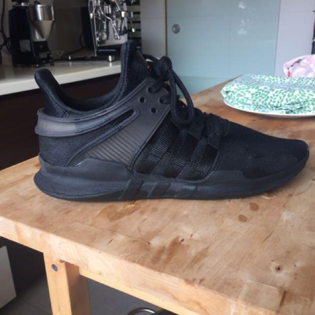 Adidas EQT triple black