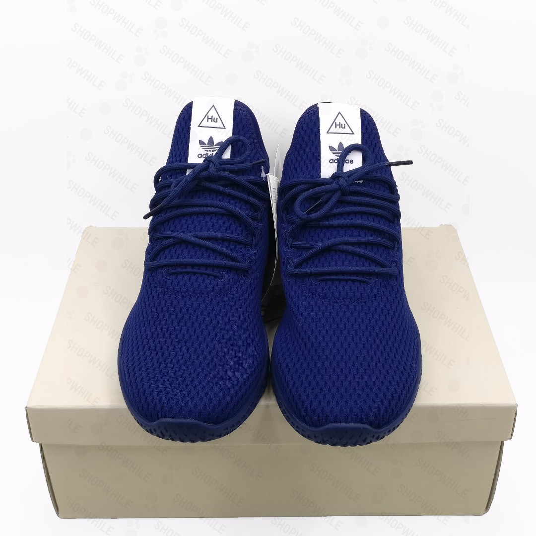 e50149bf1 adidas Pharrell Williams Tennis Hu Dark Blue (BY8719)