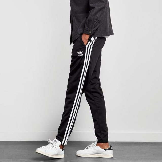ce74e564389 Adidas Superstar Cuffed Track Pants, Men's Fashion, Clothes on Carousell