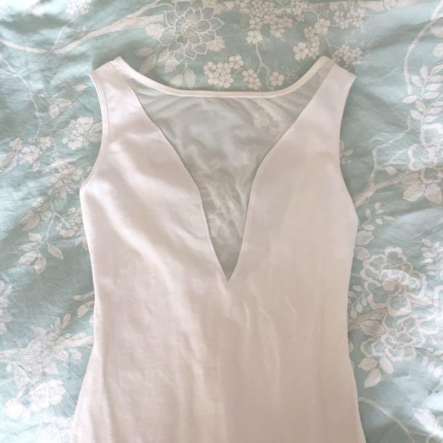 American Apparel Spandex V Dress
