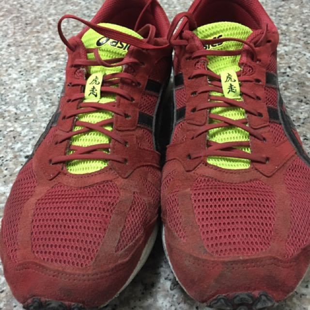 Asics虎走4代路跑鞋9.5