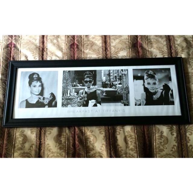 Audrey Hepburn Framed Photograph