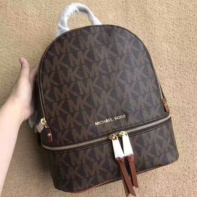Authentic Michael Kors MK backpack bag f4bb7c21ddf55