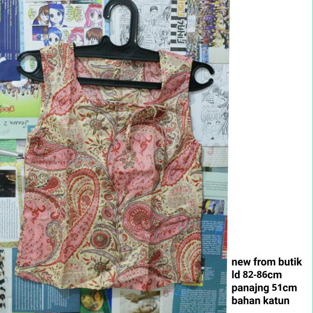 Batik Top New