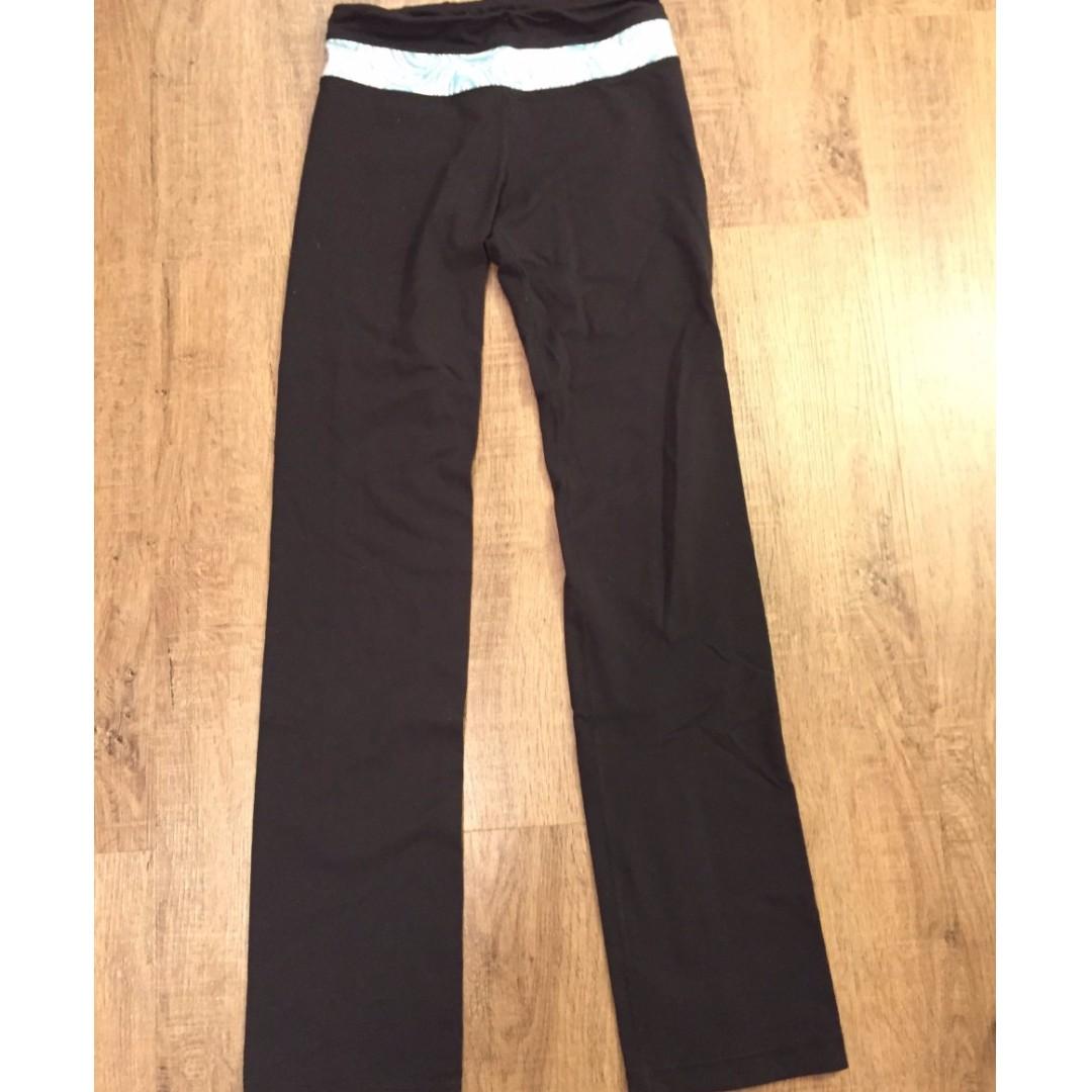 Black BENCH yoga pants (size XXS)