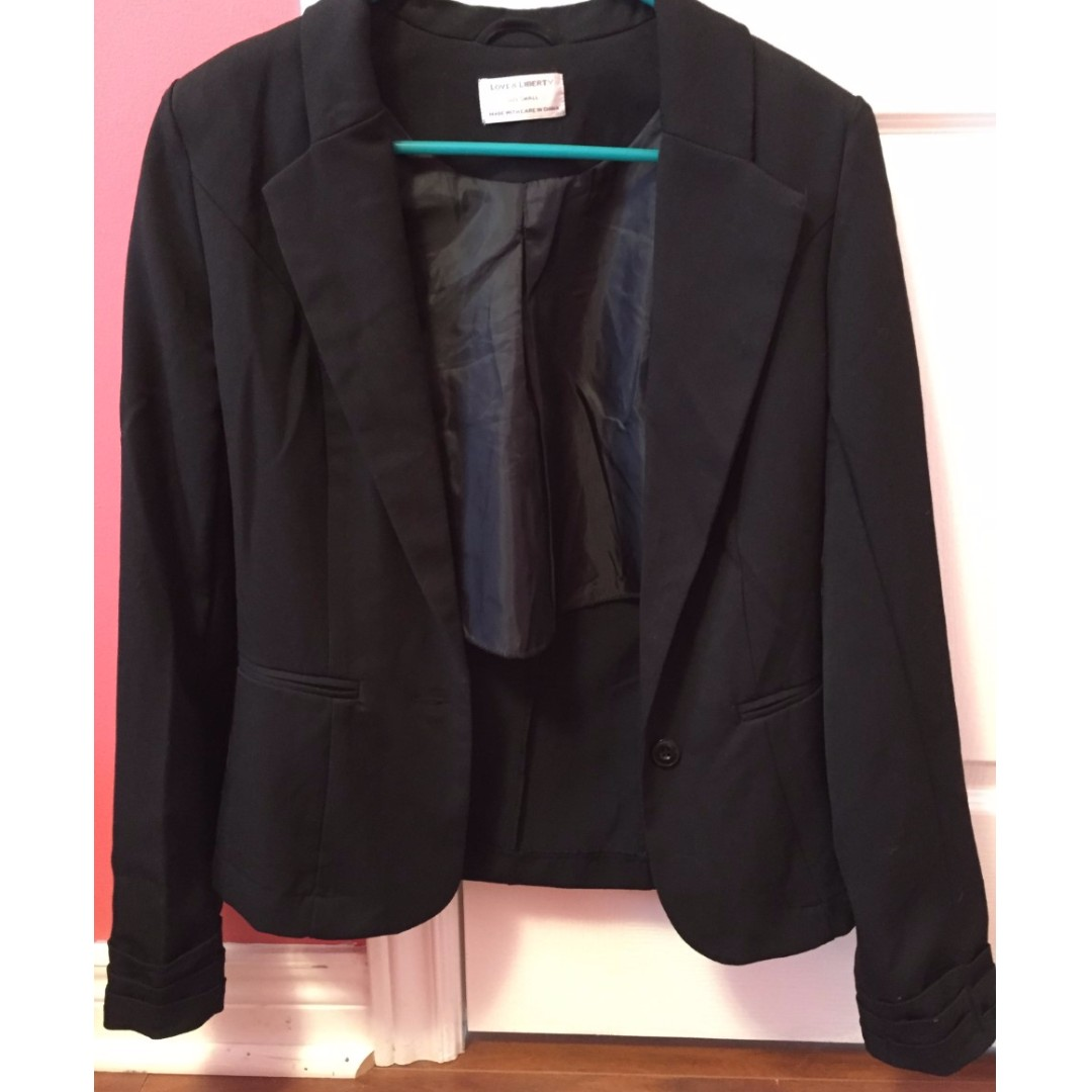 Black Blazer (Size small) from Urban Planet NEVER USED