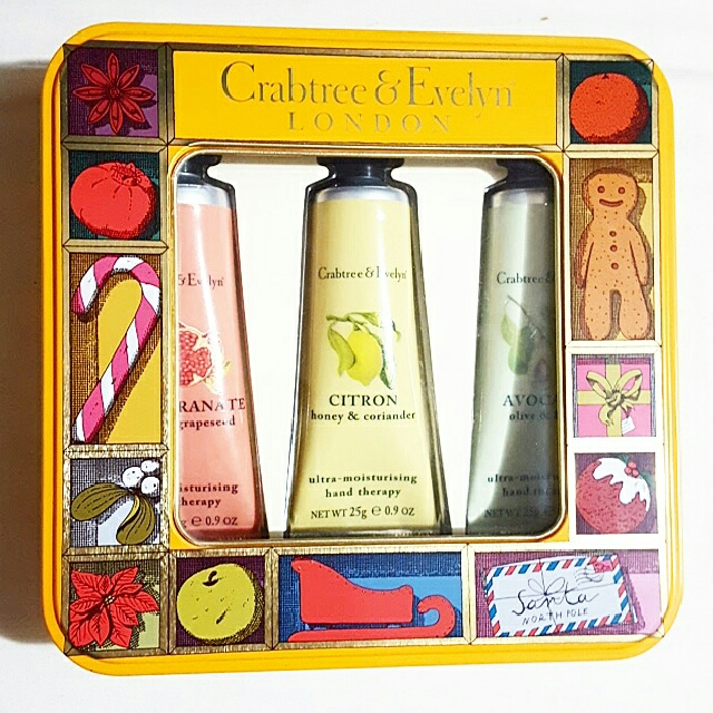 BNIB CRABTREE & EVELYN HAND THERAPY SET