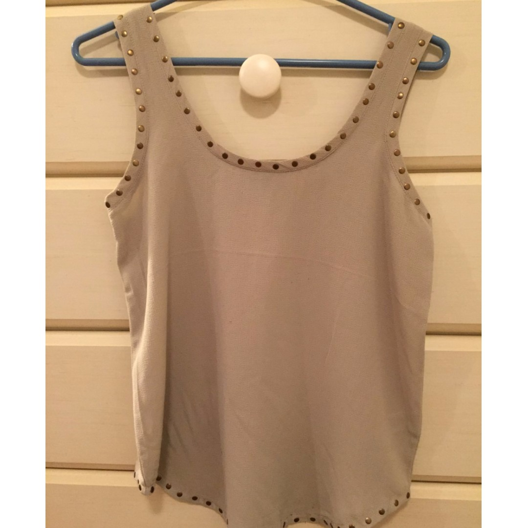 Brown tank top (size small) from DYNAMITE
