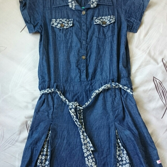 Byloz girls soft maong dress