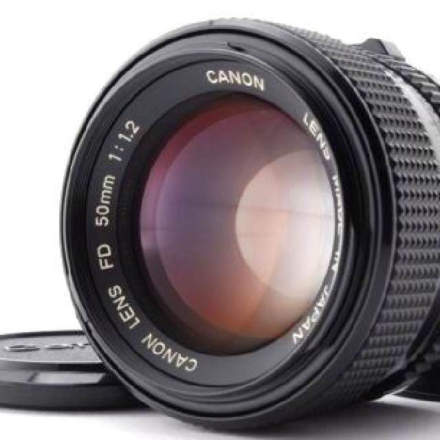 Canon FD 50mm 1.2 L f/1.2 bokeh Canon FL the brightest lens great condition