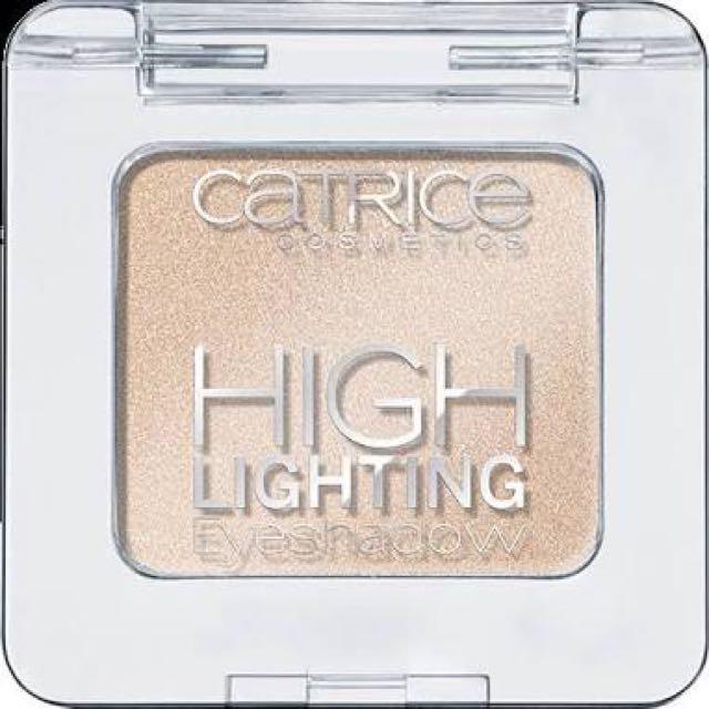CATRICE highlighting eyeshadow / golden nights (+FREE sariayu inspirasi papua eyeshadow P02)
