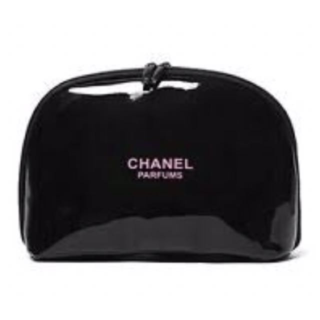 Chanel Perfume Cosmetic Bag