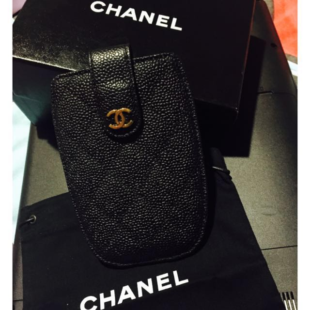CHANEL PHONE COVER