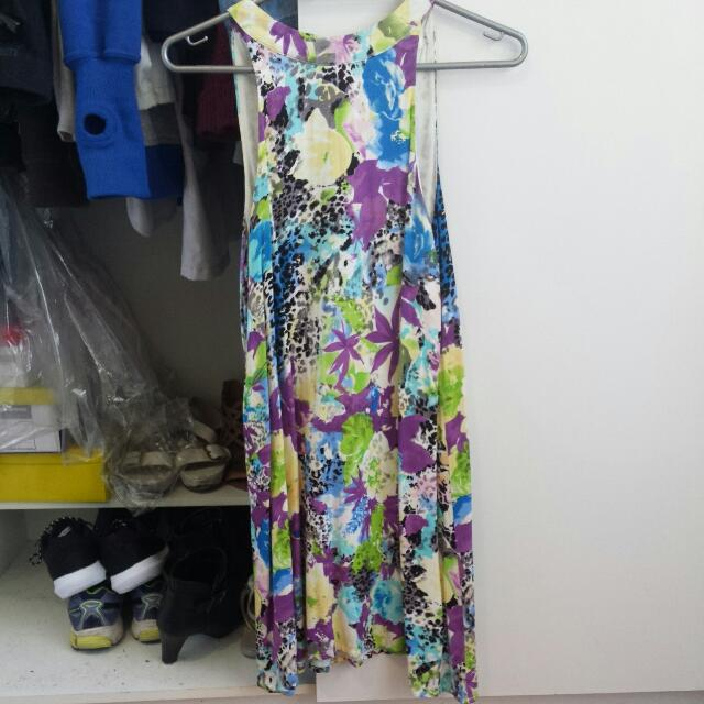 Colourful Peppermayo High Neck Dress