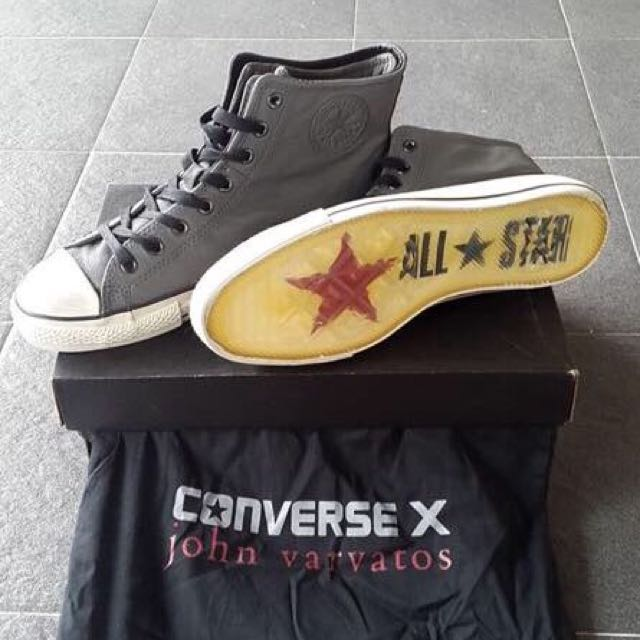 c7bfe6b61264 ... purchase converse john varvatos abu grey preloved fesyen pria sepatu di  carousell d5a4b 3bb70 ...
