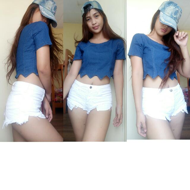 Croptop(denim)