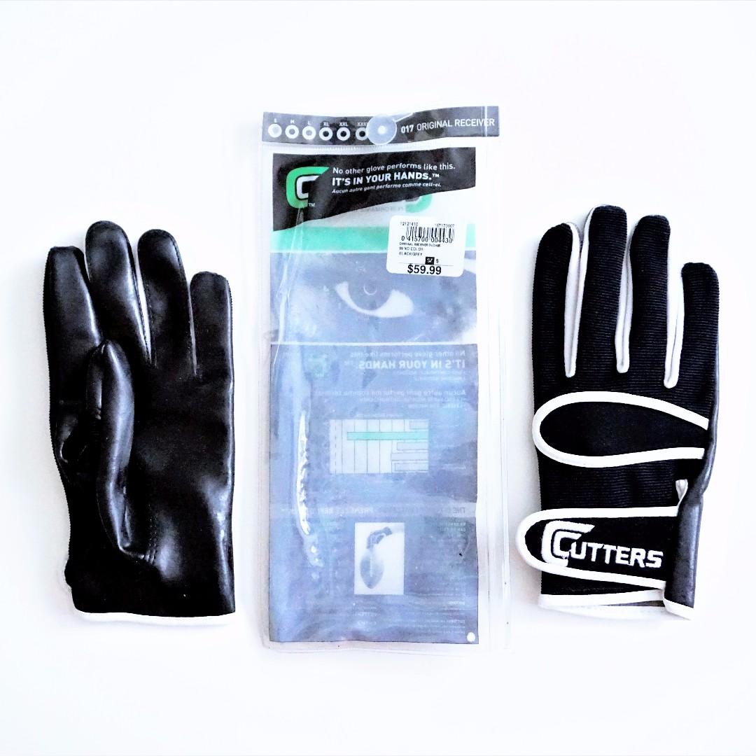 Cutter's - Original Receiver C-Tack Football Gloves