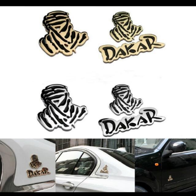 Dakar Rally Character Car Cover Scratch Sticker Classic Car - Vinyl for motorcycle decals