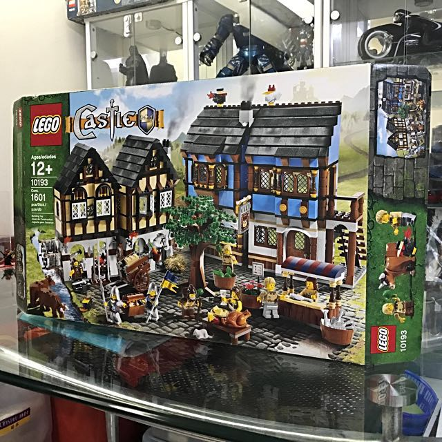 Discontinued Lego 10193 Medieval Village Market box only on Carousell