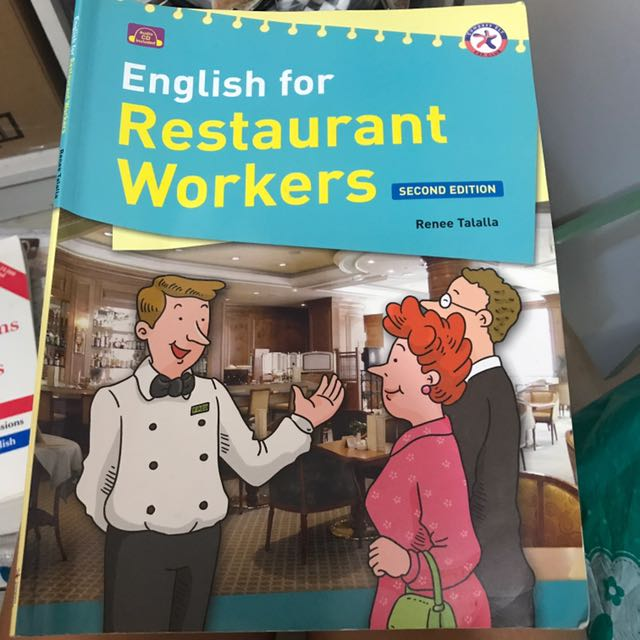 English for restaurant workers 餐飲英文