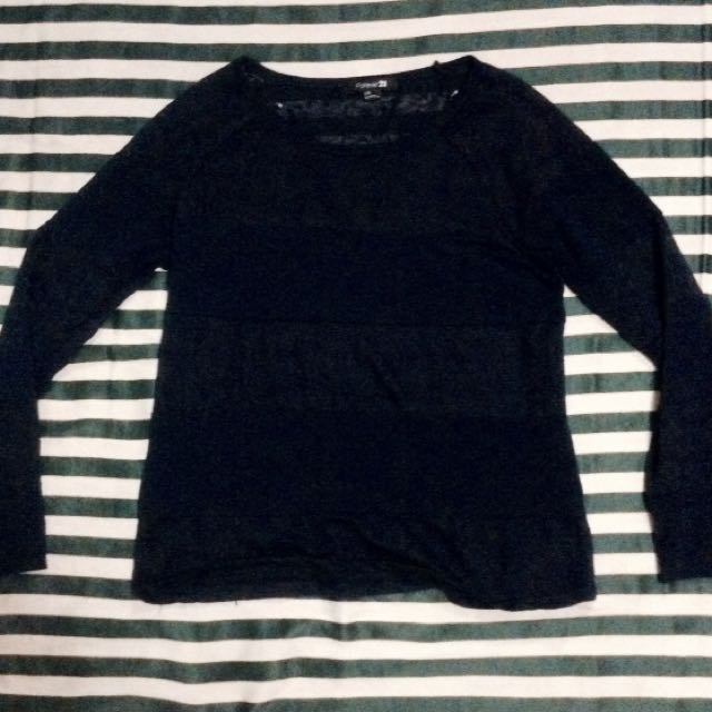 👄F21  LACEY STRIPED SWEATER👄