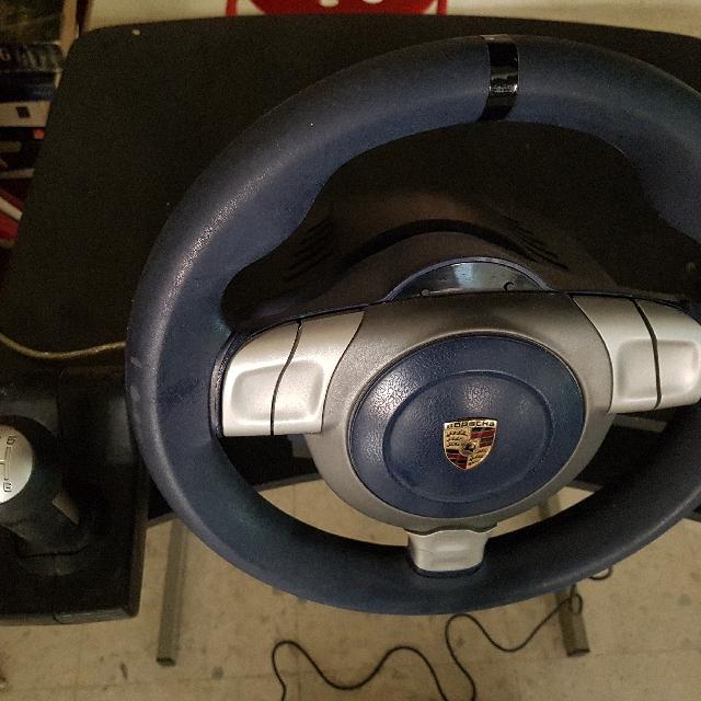 Fanatec Porsche 911 Carrera Wheel, 6 speed + R gear shifter
