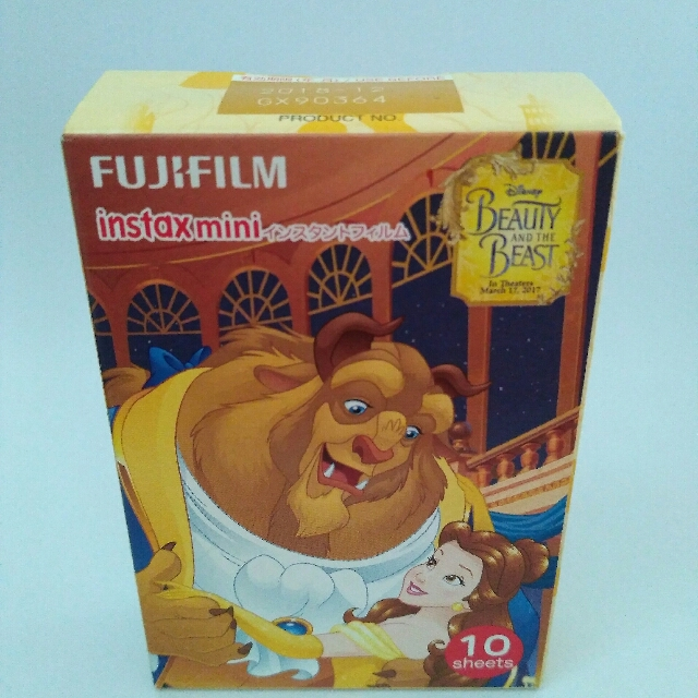 Film Instax Mini BEAUTY & THE BEAST