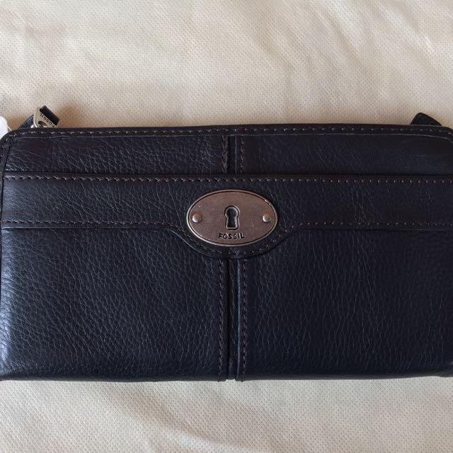 Fossil Maddox Zip wallet