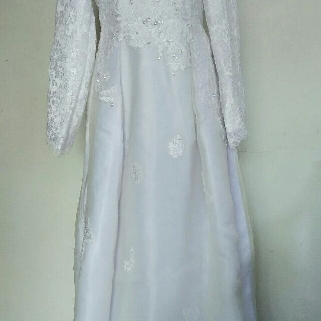 Gaun Pengantin Muslim Wedding Dress Women S Fashion Women S