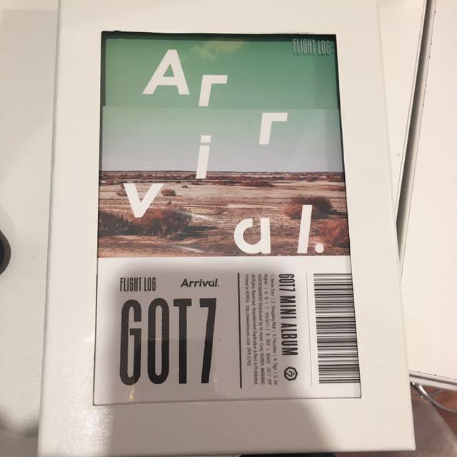 Got7 Flight log Albums