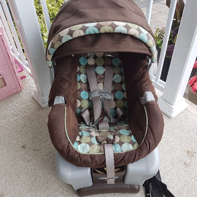 graco montego carseat and stroller
