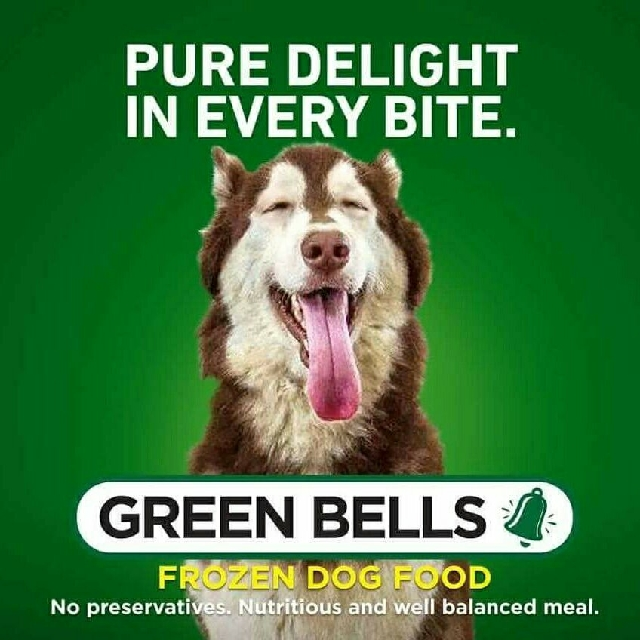 Green bells frozen dog food pets supplies pet food on carousell forumfinder Images