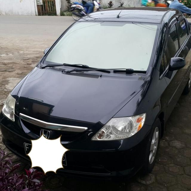 Honda City 2004 HITAM