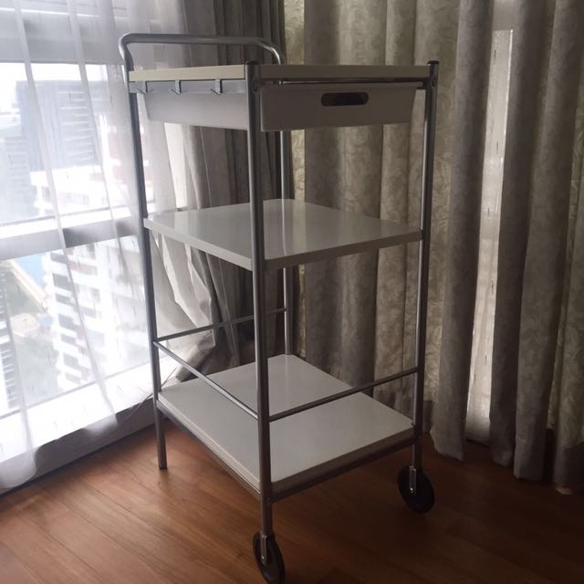 IKEA BYGEL - Kitchen Trolley, Home Appliances on Carousell