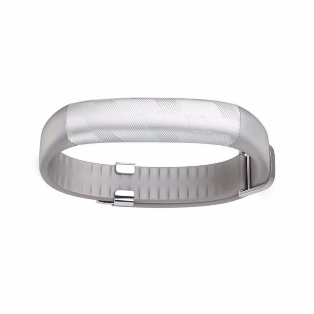 Jawbone UP2 Fitness Tracker in Hex Grey Silver