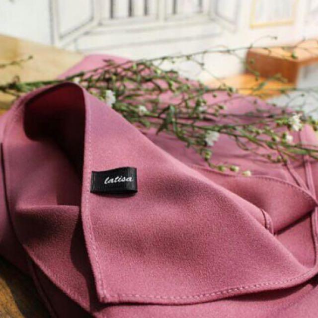 Jilbab Bahan Diamond Crepe Pink Olshop Fashion Olshop Muslim On