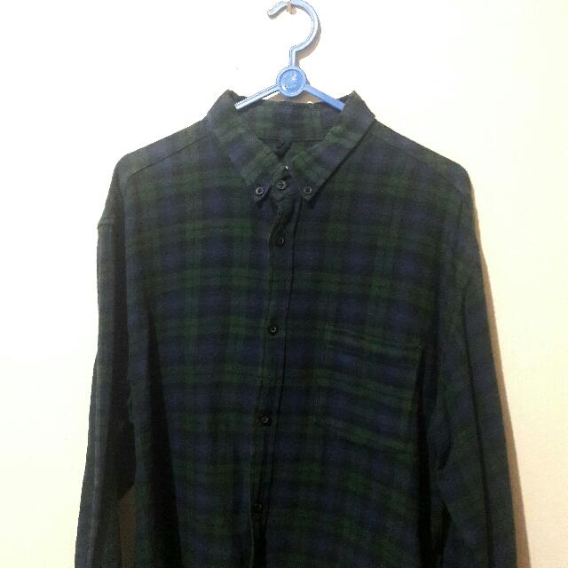 Kemeja Flannel Size XL