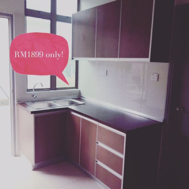 Kitchen Cabinet Offer Kabinet Dapur Promo Home Furniture