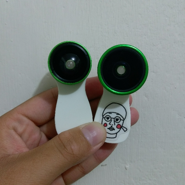 LIEQI F-516 0.36廣角+15X微距+魚眼鏡頭