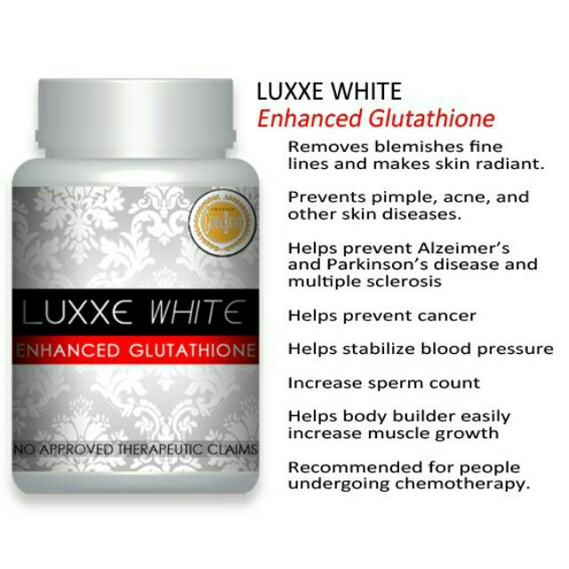 Luxxe White 60caps