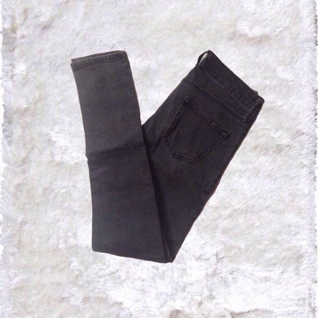 MANGO | Alice Slim Black Jeans