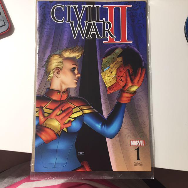 Marvel Civil War II Variant Cover Issue 1